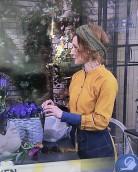 Linda Schilen sjalen som hårband