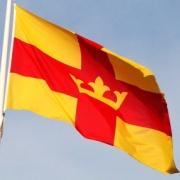 Svenska kyrkan flagga