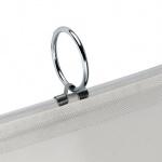 Ringhållare för rundring på draperier med keder