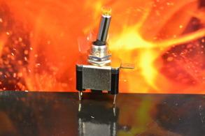 Vippströmbrytare LED
