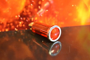 Varningslampa liten - Röd