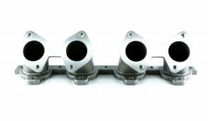 2x 45mm Weber insug Volvo 16V Lutande