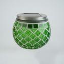 Solcellslykta Mosaik - Solcellslampa Mosaik Grön
