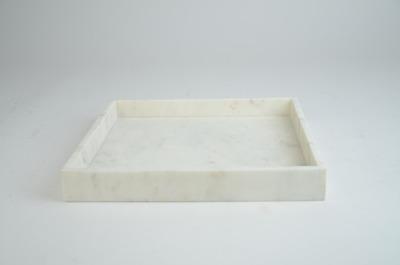 Marmorbricka Vit stor 30x30x4 - Marmorbricka vit 30x30x4