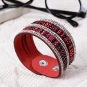 Rubinröd enkelt - Rubinröd 160019