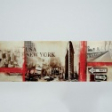 Tavla Canvas New York Red