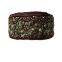 Bred med blandade stenar grön - Bred med blandade stenar grön