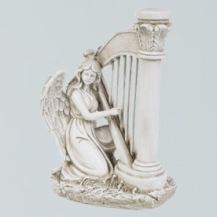 Ängel spelande harpa