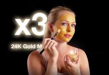 x3 24K Guld Mask med unika egenskaper