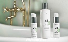 PAKETPRIS x3 Cleanse & Moisturize - x3 Cleanse & Moisturize