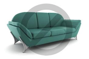 Soffa - Grön