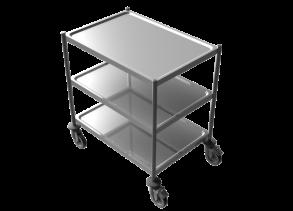 Rostfri bordsvagn - Rostfri bordsvagn