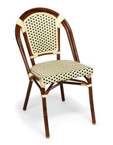 Paris stol, grön/ creme - Paris stol, grön/ creme