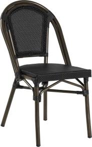 Paris stol, svart textylene - Paris stol, svart textylene