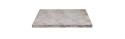 Bordsskiva 70x70cm, Zinc