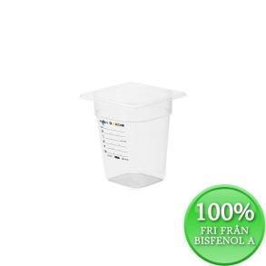 Plastkantin, bisfenolfri, GN 1/6-200 mm - Plastkantin, bisfenolfri, GN 1/6-200 mm