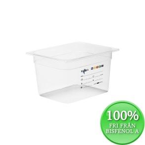 Plastkantin, bisfenolfri, GN 1/2-200 mm - Plastkantin, bisfenolfri, GN 1/2-200 mm