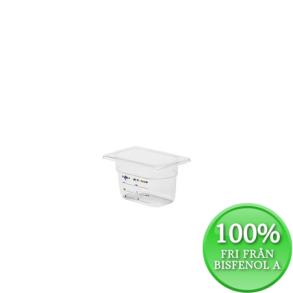 Plastkantin, bisfenolfri, GN 1/9-100 mm - Plastkantin, bisfenolfri, GN 1/9-100 mm