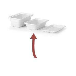 Gastronormfat GN 1/4 - Vit - Gastronormfat GN 1/4 - Vit