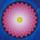 Meditationstavla - Mandala målning Inner Balance - Mandala by Mariana