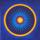 Meditationstavla - Mandala målning Inner Power - Mandala by Mariana