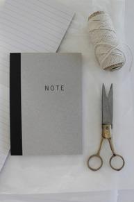 Anteckningsbok Note HOUSE DOCTOR