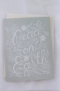 Peace on Earth RIFLE PAPER