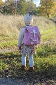 Ryggsäck barn rosa BLAFRE