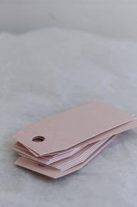 Etiketter rosa
