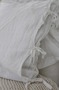 Örngott, kuddfodral med knytband