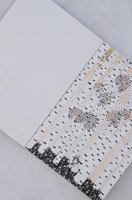Fabelskogen vykortsbok IDA AHLGREN
