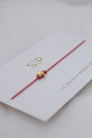 Sparkle bracelet Pink bird SYSTER P