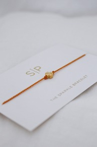 Sparkle bracelet Orange clover SYSTER P