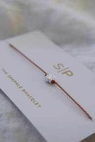 Sparkle bracelet Pink clover SYSTER P