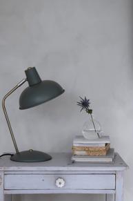 Bordslampa dimgrön
