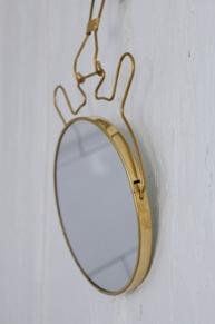 Spegel mässing liten MERAKI
