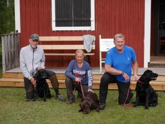 Champion klassen: fv. på andra plats Mainline´z Zahra Jones och Kent Mihlberg, segrade gjorde Labvision´s Green Rifle och Ulrika Vistedt, på tredje plats Norbon Hill Frost och Kenneth Isevik