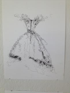 Konsttryck/ Prints. Klänning - Prints på finare papper. A3 Klänning. https://edit.hemsida24.se/H24-Store/#