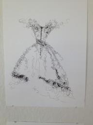 Konsttryck/ Prints. Klänning