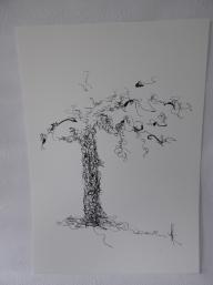 Konsttryck/ Prints. Träd