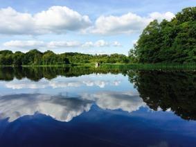 Sommardag på Tjörnarpssjön