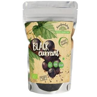 Ekologiska och råtorkade svarta vinbär 100 g - Svarta vinbär 100 g