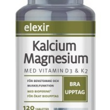 Supertabletten med Kalcium Magnesium 120 tabletter