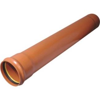Avloppsrör PVC 6 meters längd - Avloppsrör PVC 50 st 6 m