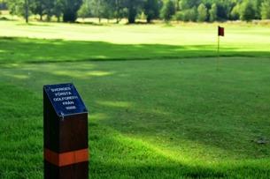Sveriges första golfgreen
