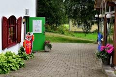 Golfklubbens café i klubbhuset