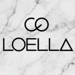 Logotype frisör care of Loella