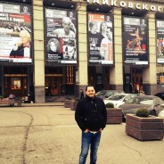 At Tjajkovskij concert hall moscow