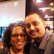 With Vicki Randle