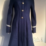 Blå kappa
